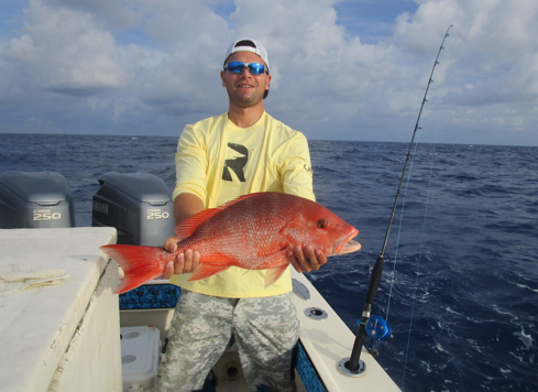 American red snapper fishing charters in cape coral florida for Cape coral fishing charters