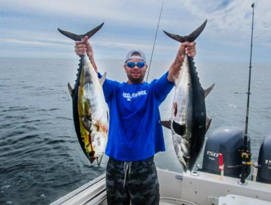Blackfin tuna fishing charters in cape coral florida for Cape coral fishing