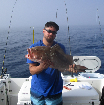 Red grouper fishing charters in cape coral florida for Cape coral fishing report
